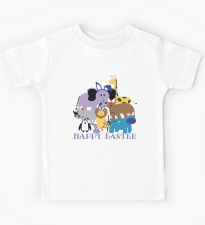 Happy Easter at the Zoo Kids Tee