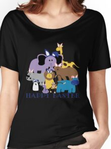Happy Easter at the Zoo Women's Relaxed Fit T-Shirt