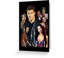 Angel TV series - The Good Guys Greeting Card