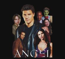 Angel TV series - The Good Guys by sandnotoil