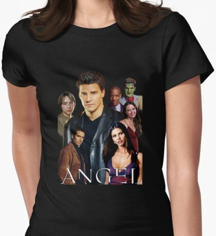 Angel TV series - The Good Guys Womens Fitted T-Shirt