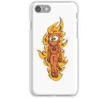 cat torch iPhone Case/Skin