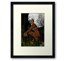 The Jungle Cat .. Fantasy Framed Print