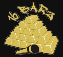 16 Barz Gold Bars Rap Design by EthosWear