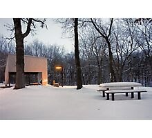 Heath Creek Rest Area MN  Photographic Print