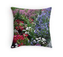 Spring Medley Throw Pillow