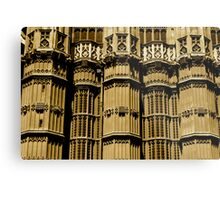 Westminster Abbey Exterior Metal Print