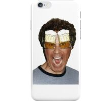 Will Ferrell beer glasses iPhone Case/Skin
