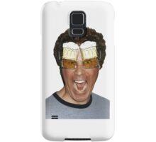 Will Ferrell beer glasses Samsung Galaxy Case/Skin