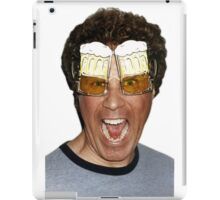 Will Ferrell beer glasses iPad Case/Skin
