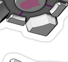 Companion Cube Portal Sticker