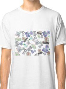 Camera Pattern 2.1 Classic T-Shirt