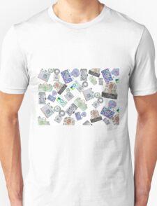 Camera Pattern 2.1 T-Shirt