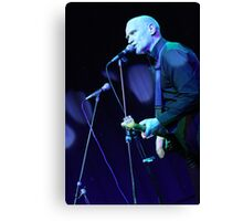 Wilko Johnson - Live on Stage Canvas Print