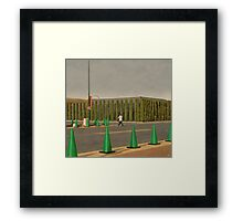 The Dentist Framed Print