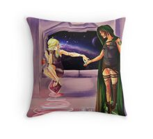 Oooh--Shiny!  I want it! Throw Pillow