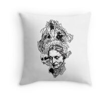 Old witch Throw Pillow