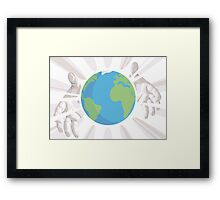 Whole World in His Hands Framed Print