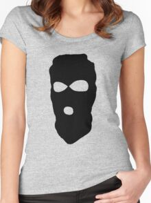 Criminal Concept | Three Women's Fitted Scoop T-Shirt