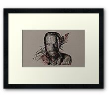 Rick Grimes The Walking Dead Framed Print
