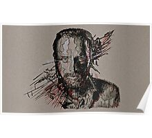 Rick Grimes The Walking Dead Poster