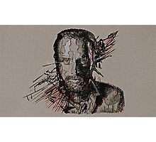 Rick Grimes The Walking Dead Photographic Print