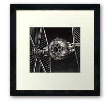 StarWars TIE Fighter Framed Print
