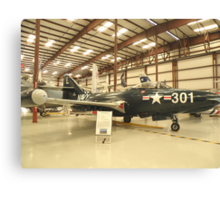 Grumman F9-F-5 Panther Canvas Print