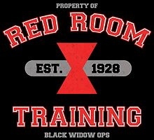 Red Room Training- White & Red (vari. 2) by thejessi