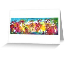 CARNIVAL NIGHT / Venetian Masquerade,Dance Music Greeting Card