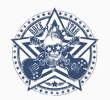 Rock Star Guitars & Skull by SonicContours