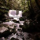 Horseshoe Falls, Mt. Field National Park, Tasmania by pmcphotography