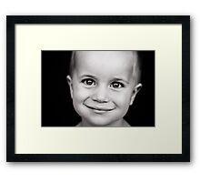 Master E. Framed Print