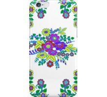 Smart in Sweet floral Cornflower and White iPhone Case/Skin
