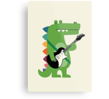 Croco Rock Metal Print