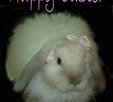 Happy Easter Bunny by Sharon Stevens