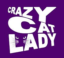Crazy Cat Lady by sandnotoil