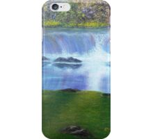 Waterfall Reflections iPhone Case/Skin