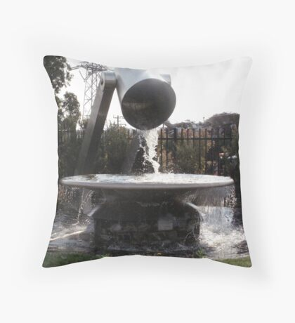 Recycling in Action! Throw Pillow