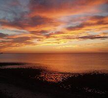 Hallett Cove sunset by elphonline