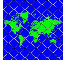 World in a Cage Photographic Print