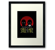 Adventures of Saul & Mike Framed Print