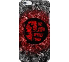 Red Hulk Fist Case iPhone Case/Skin