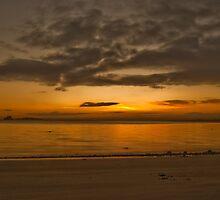 Sunrise beach by makatoosh