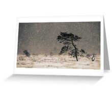 'Under the Snowstorm I' Greeting Card