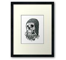 Templar Skull Framed Print
