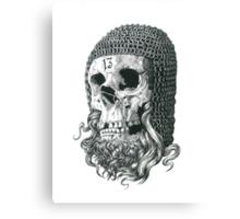 Templar Skull Canvas Print