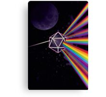 Pink Floyd Dark Side of the Moon Dungeons & Dragons Canvas Print