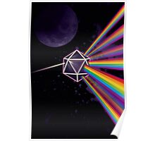 Pink Floyd Dark Side of the Moon Dungeons & Dragons Poster