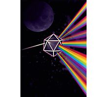 Pink Floyd Dark Side of the Moon Dungeons & Dragons Photographic Print